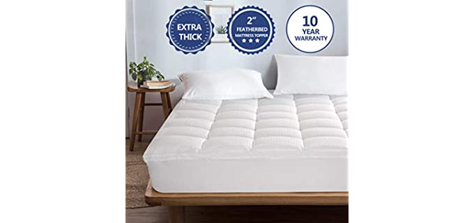 Starcast Pillow Top - Mattress Topper for Bed