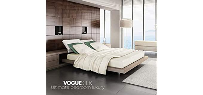 Vogue Silk Luxurious - Silk BedSheet