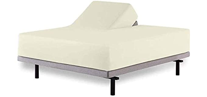 Aashi Rainwear Split-Head - Sheets For Adjustable Beds