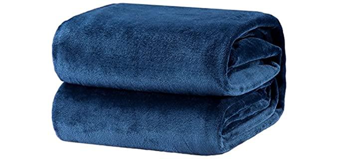 Bedsure Luxury - Bed Fleece Blanket