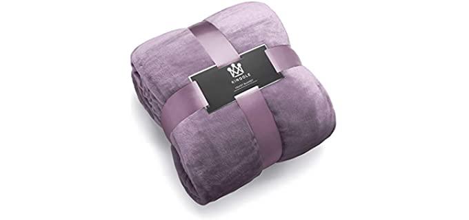 Kingole Flannel - Fleece Microfiber Blanket