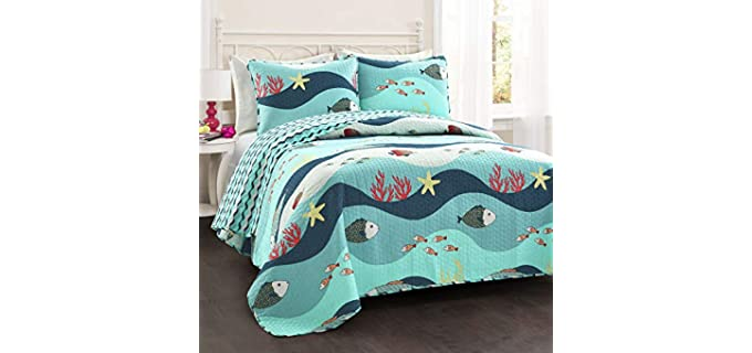 Lush Decor Twin - Cotton Quilts for Beds