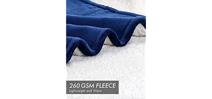Utopia Bedding Reversible - Throw Blanket for Winter