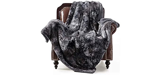 Bedsure Double-Sided - Fluffy Fuzzy Blankets