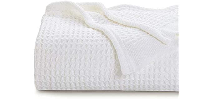 Bedsure Thermal Blanket - Waffle Weave