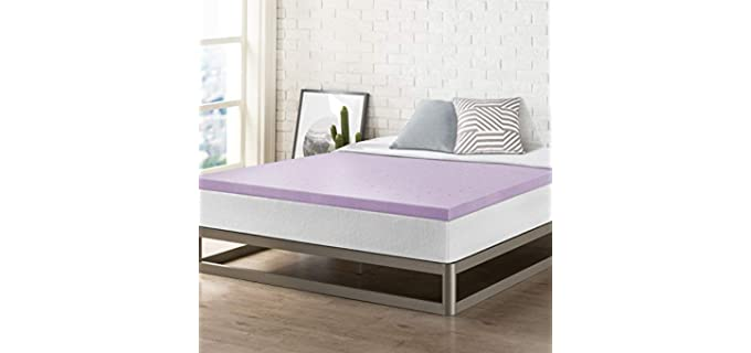 Best Price Mattress Lavender Infusion - Memory Foam Topper Mattress Pad