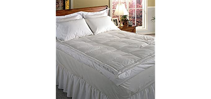 Blue Ridge Luxury 5 inch - Down Pillowtop Featherbed