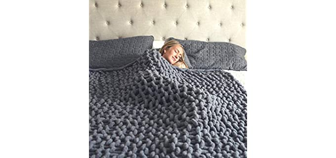 Hearth & Stone Chenille - Cozy Knitted Blankets