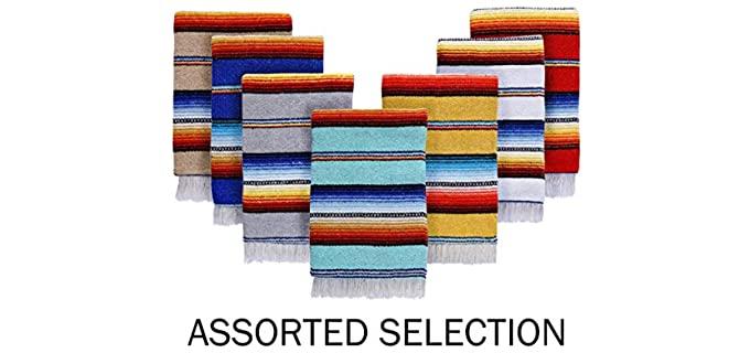 El Paso Designs Classic - Serape Mexican Blanket