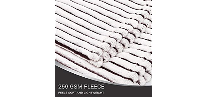 Green Orange Microfiber Polyester - Premium Blanket
