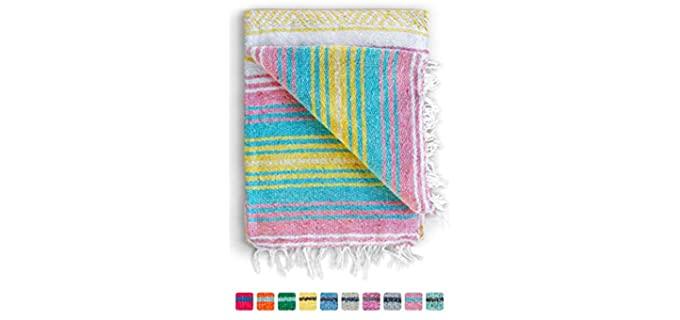 Benevolence LA Serape - Handmade Mexican Blanket