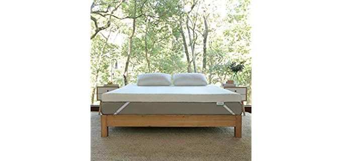 Novilla 2 Inch Gel - Memory Foam Mattress Topper