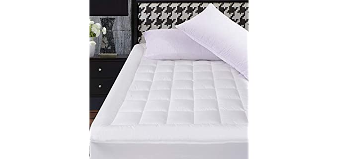 OBOEY Snow Down Alternative - Cooling Mattress Topper