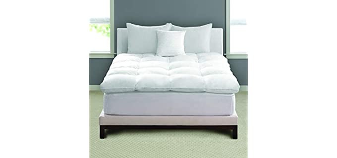 Pacific Coast Feather Luxe - Natural-fill Mattress Topper