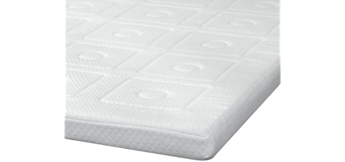 SensorPEDIC Luxury 3-Inch - Quilted Memory Foam Mattress Topper