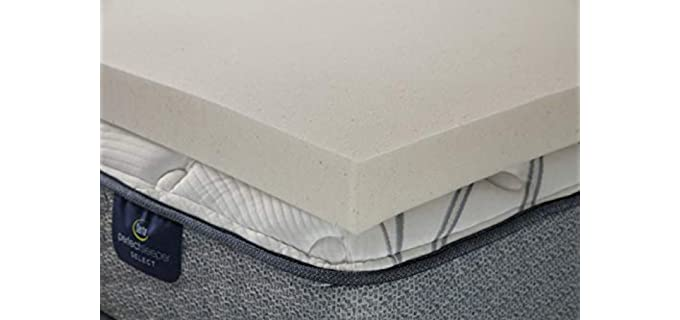 Serta CopperGel - Memory Foam Mattress Topper