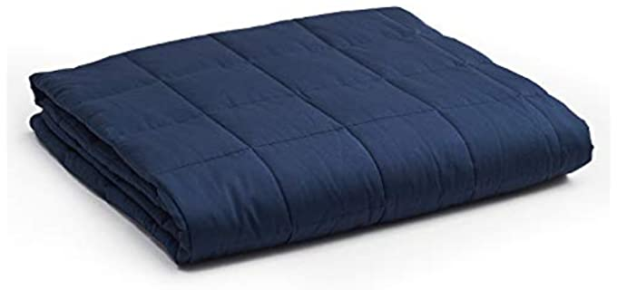 YnM Glass Bead Cotton - Weighted Blanket