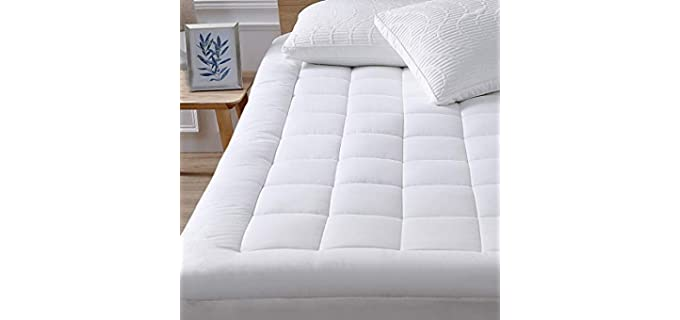 oaskys Alternative Fill - Cooling Mattress Topper