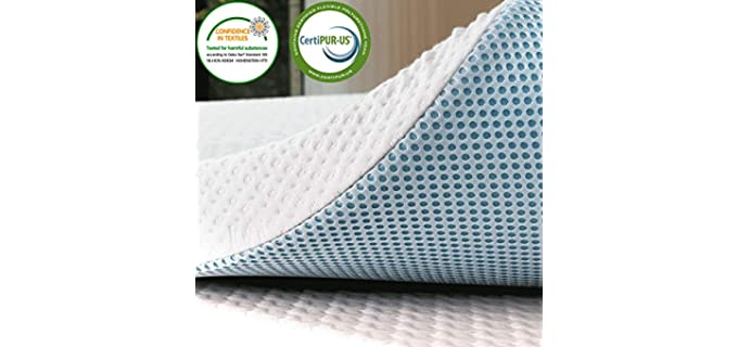 Subtext 2-Inch - Gel-Infused Memory Foam Topper