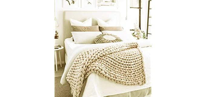 Valentinyii Premium - Chunky Knit Blanket