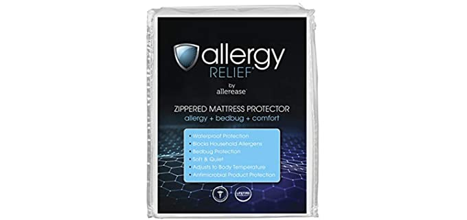 Aller-Ease Allergy Relief - Zippered Mattress Protector