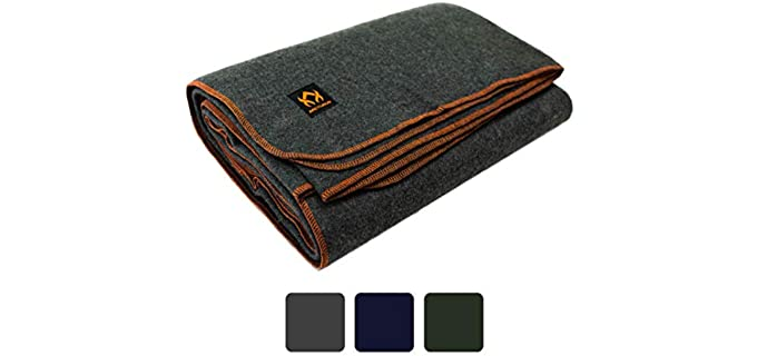Arcturus Military Wool - Best Throw Blankets