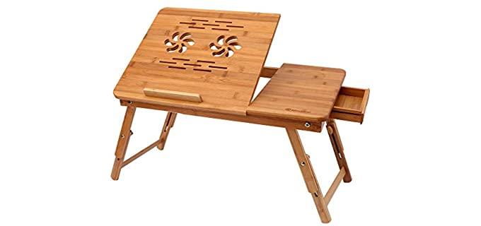 Himimi Bamboo - Laptop Desk
