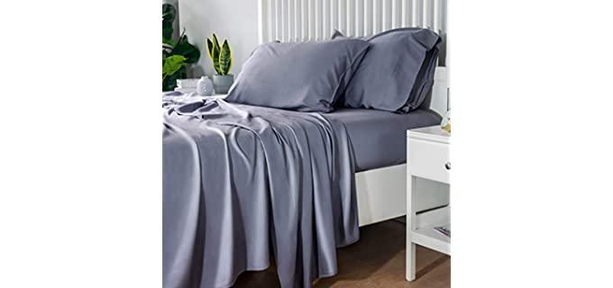 Bedsure Cooling - Soft Bamboo Sheets