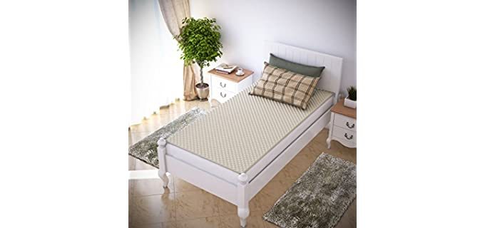 Everyday Home Ventilated - Egg Crate Mattress Topper