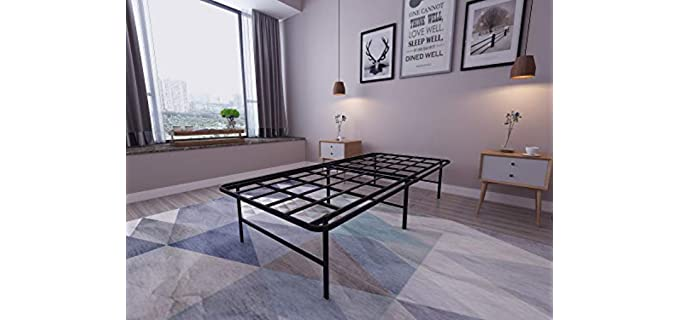 Homdock Metal - Platform Bed Frame