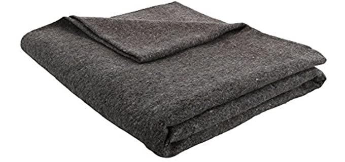 JMR Grey - Military Wool Blanket