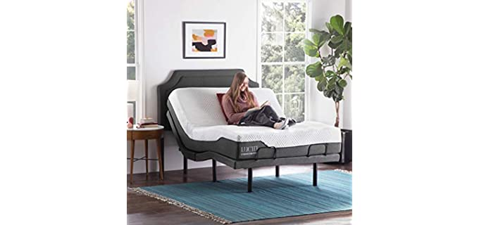 LUCID L300 - Adjustable Bed with Mattress