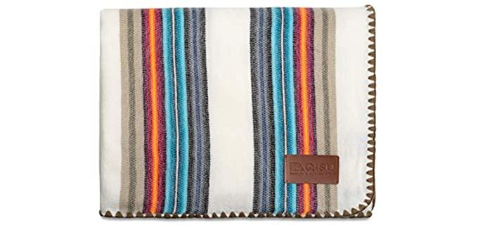 QISU Alpaca - Wool Blanket Throw