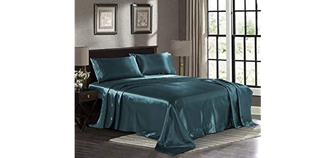 Pure Bedding Luxury - Satin Sheets