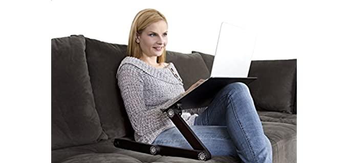 Uncaged Ergonomic - Aluminum Laptop Desk
