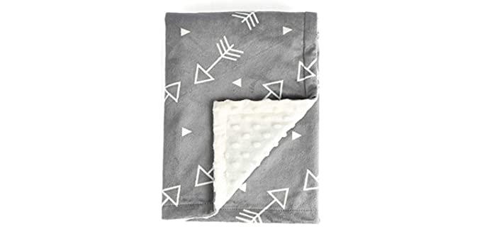 BORITAR Mink - Dotted Baby Blankets