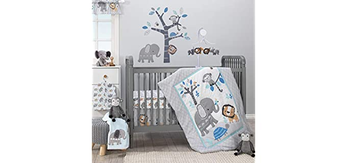 Bedtime Originals Jungle Fun - Best Crib Sheets