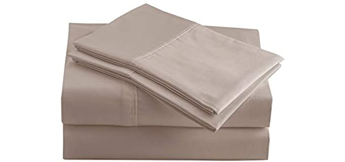 Casa Platino Twin - Percale Weave Best Organic Sheets