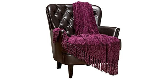 Chanasya Tassels - Textured Chenille Baby Blankets