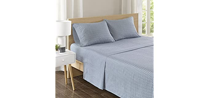 Comfort Spaces Queen - Best Geometric Cotton Sheets