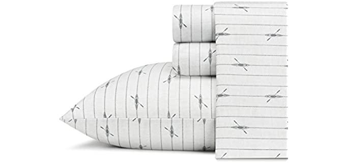 Eddie Bauer Home Queen - Lightweight Best Cotton Sheets