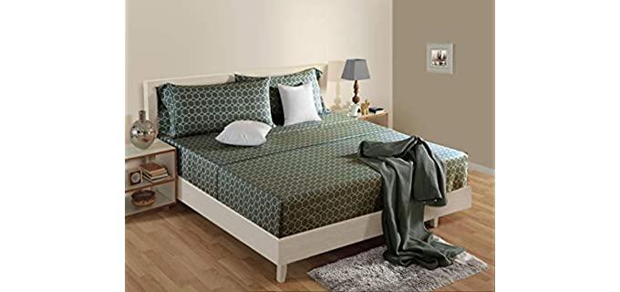Linenwalas Queen - Patterned Best Organic Sheets
