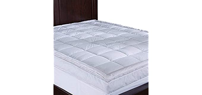 Puredown Twin - Luxurious Goose Down Mattress Topper