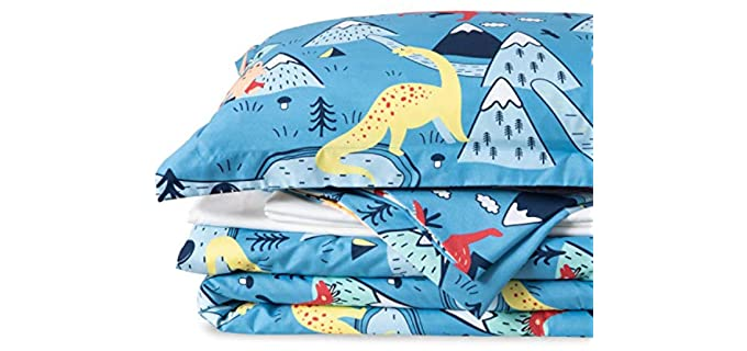 Bedsure Collections Dinosaur - Children Bed Sheets