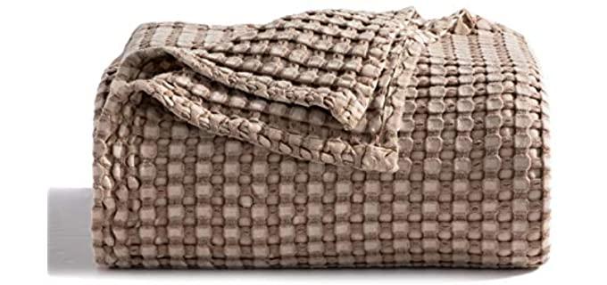 bedsure bamboo Cotton - Bamboo Blanket