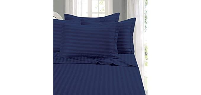 Elegant Comfort Cozy - Striped Sheets