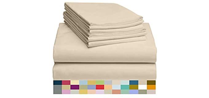 LuxClub 6-Piece - Wrinkle Free Sheets