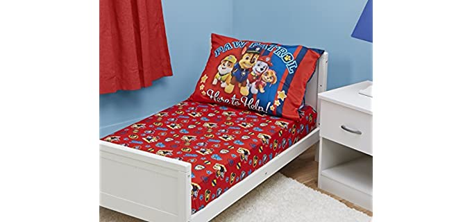 Paw Patrol Fitted - Kids Bed Sheets