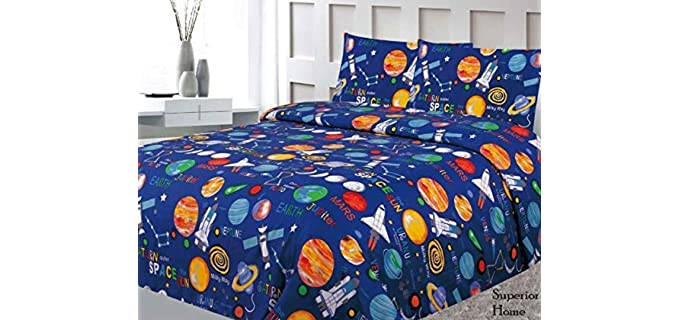 Sapphire Home Printed - Bed Sheets