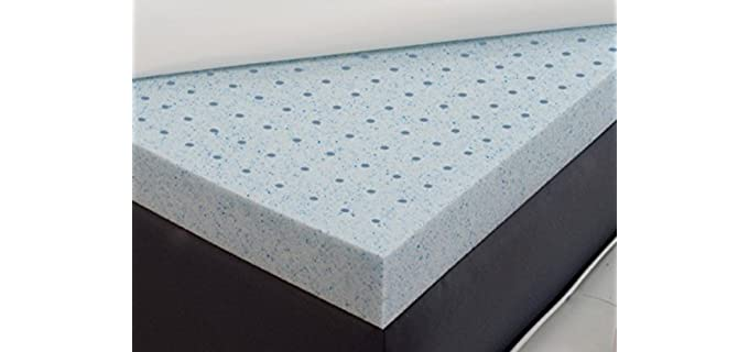 Back Support Systems Confourm - Firm Mattress Topper